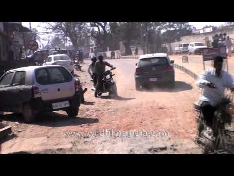 Drive through Dausa, Rajasthan