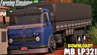 Mercedes Benz LP 321 + DOWNLOAD - Farming Simulator 17