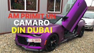 #141 Car vLog - AM PRIMIT UN CAMARO DIN DUBAI