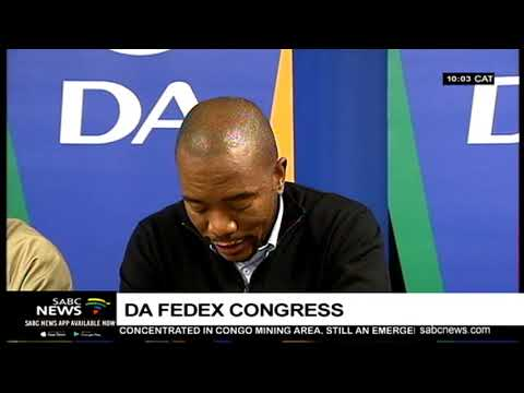 UPDATE: DA Federal Council Chairperson contest