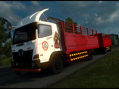 ETS 2 | Truck Hino 500 New Generation Gandeng Logistik Semen | Aceh Selatan - Duri