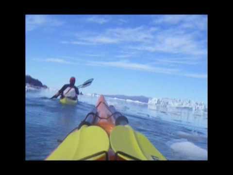Paddling Upernavik Greenland