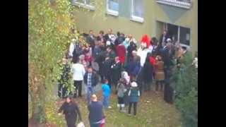 Bochum - Wedding street - Red Bride