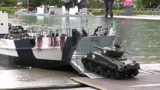 Download Video RC Boat - Landing Craft and Tanks at ASK Show Case 2014 MP3 3GP MP4