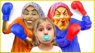 Милана и её новая странная Няня, забавная история для детей