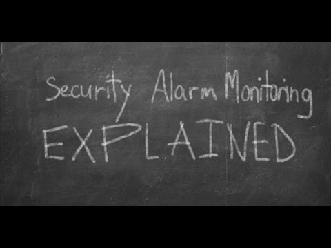 Commercial Security Alarm Monitoring Explained