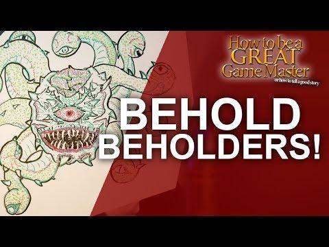 The Beholder! The Aggressive, Hateful, Greedy Aberration - DnD Monster Spotlight
