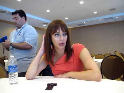 With Nikita's Melinda Clarke  Comic Con 2013