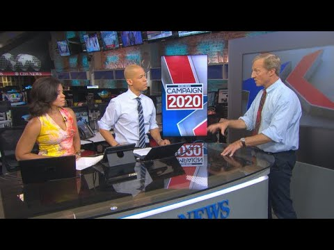 Tom Steyer talks climate change and foreign policy on tour of Iowa