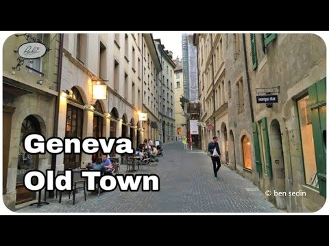 Geneva, Switzerland - Old Town