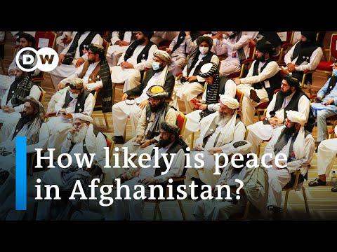 Historic Afghan-Taliban peace talks begin in Doha, Qatar   DW News