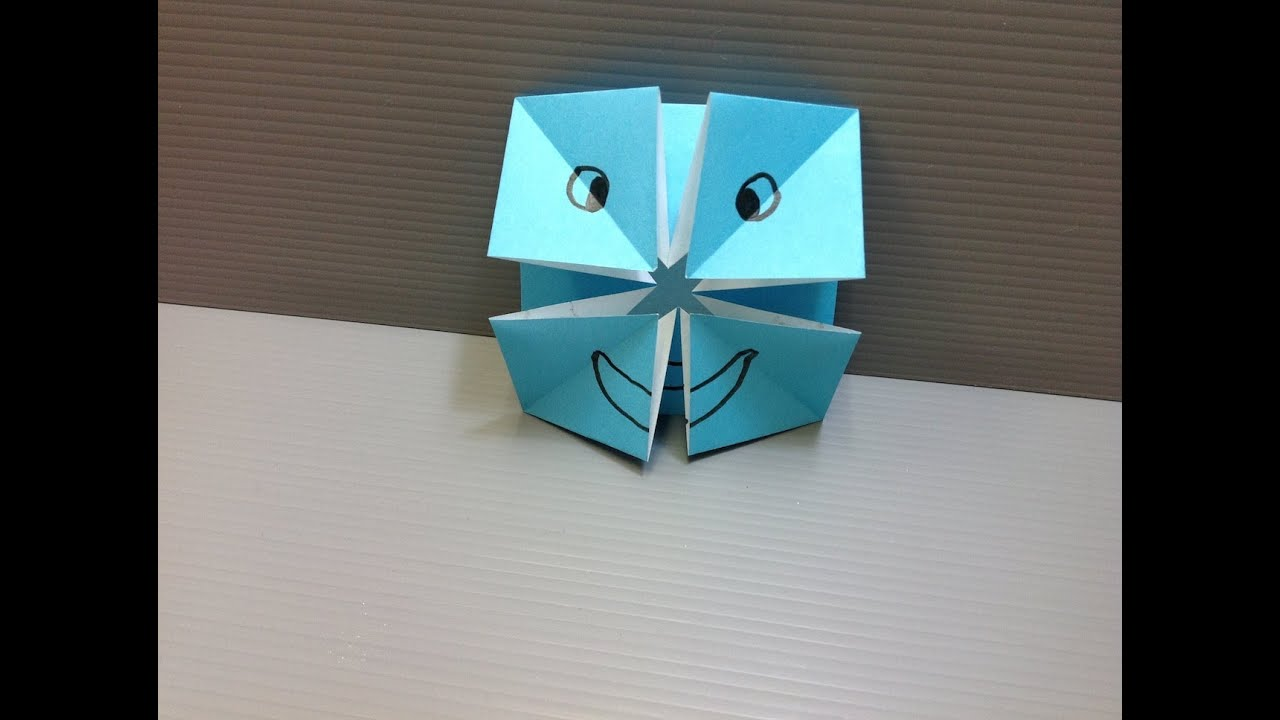 Daily Origami: 023 - Changing Faces - YouTube - photo#36