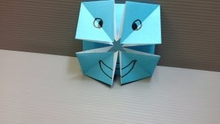 Daily Origami: 023 - Changing Faces