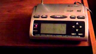 NOAA Weather Radio - EAS #791: Flood Warning (6/28/2013)