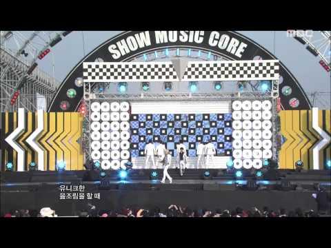 Super Junior - Superman, 슈퍼주니어 - 슈퍼맨, Music Core 20111015
