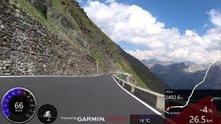 60 Minute Extrem Uphill Indoor Cycling Workout Stilfser Joch - Passo Stelvio Italy 4K
