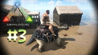 ARK: Survival Evolved [#3] - Taming A Carbonemys!