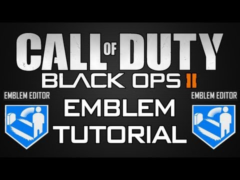How To Make A Superman Emblem On Black Ops 2