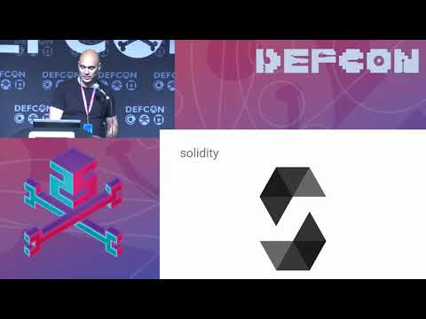 DEF CON 25 - Konstantinos Karagiannis - Hacking Smart Contracts