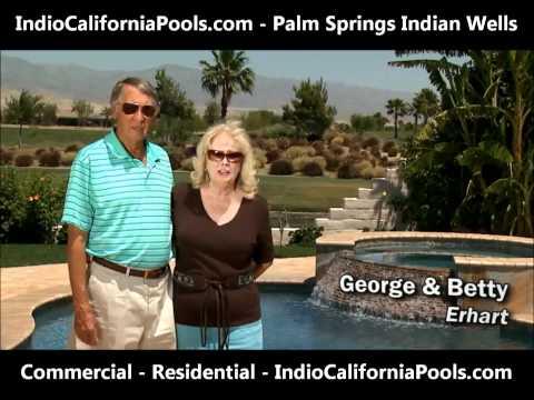 Indio CA Pools - Swimming Pool - Hot Tub - Spa - Fountain - Service - Repair - Palm Springs Metro