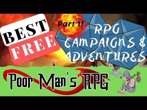 Best FREE RPG Campaign Adventures!