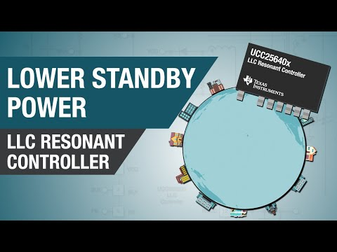 LLC Resonant Controller: Achieve a new low  in standby power