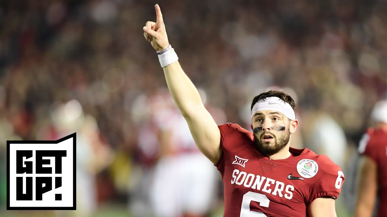 83d84fdb91c Hot Take Factory  Mike Greenberg says Baker Mayfield is worth NFL draft No. 1  pick