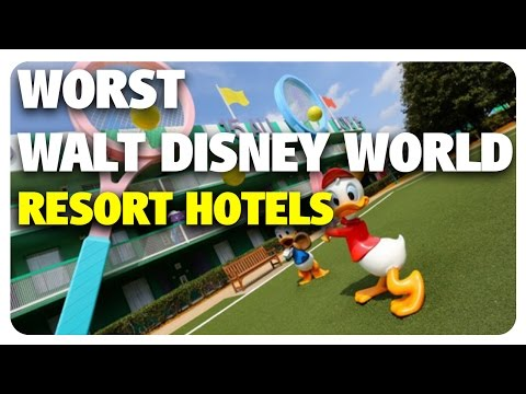 WORST Walt Disney World Resort Hotels! | Best & Worst 04/26/17