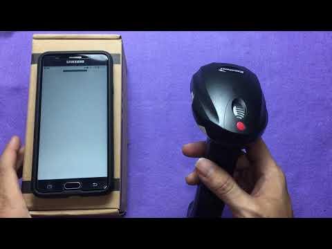 Unboxing Barcode Scanner Dan Cara Konek Bluetooth Ke Android