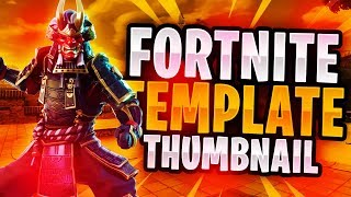 "New ""LEAKED"" Fortnite Skins Thumbnail Template November 2018! - (FREE Fortnite GFX Template)"