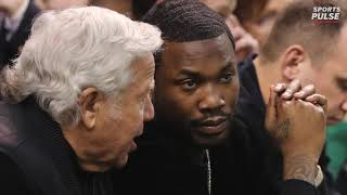 Meek Mill, Robert Kraft and Jay-Z team up for a criminal justice organization