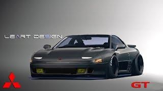 Virtual Tuning Mitsubishi 3000GT Photoshop
