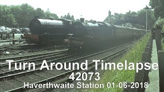 Fairburn 42073 Haverthwaite Turnaround Timelapse