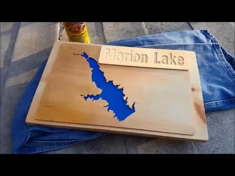 Lake Map - A CNC Project