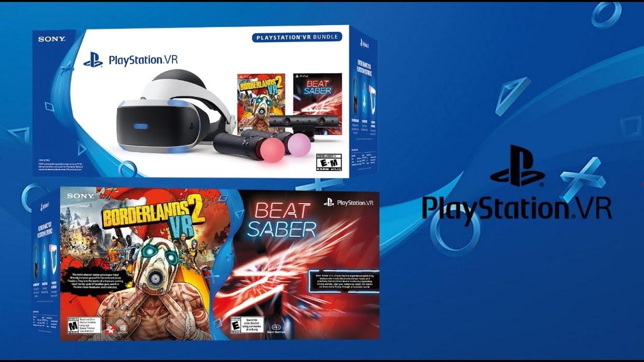 Playstation Vr Borderlands 2 Vr And Beat Saber Bundle Revealed Youtube