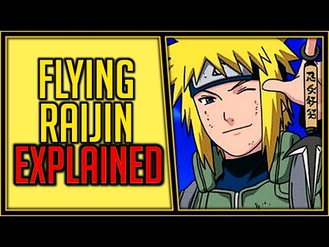 Explaining the Flying Raijin Jutsu