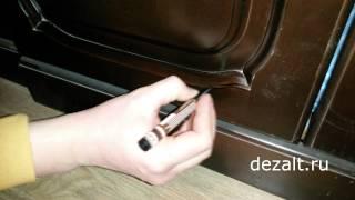 Маскировка потертостей у мебели(Спрашиваю и спрашивают - чем замаскировать неглубокие царапины и потертости. Сейчас существуют различные..., 2015-03-11T20:58:12.000Z)