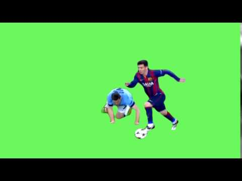 Messi Nutmeg Chroma Key thumbnail