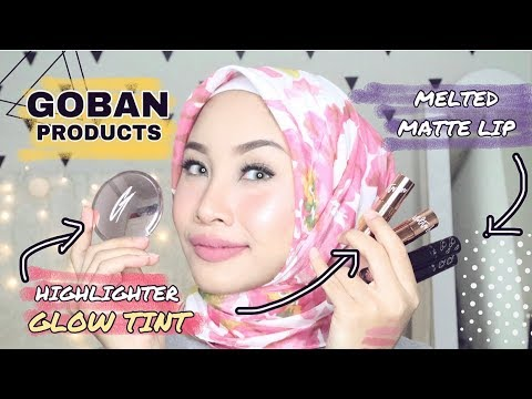 goban-cosmetics-melted-matte-lip,-glow-tint-x-molita-lin-adn-stardust-highlighter-review
