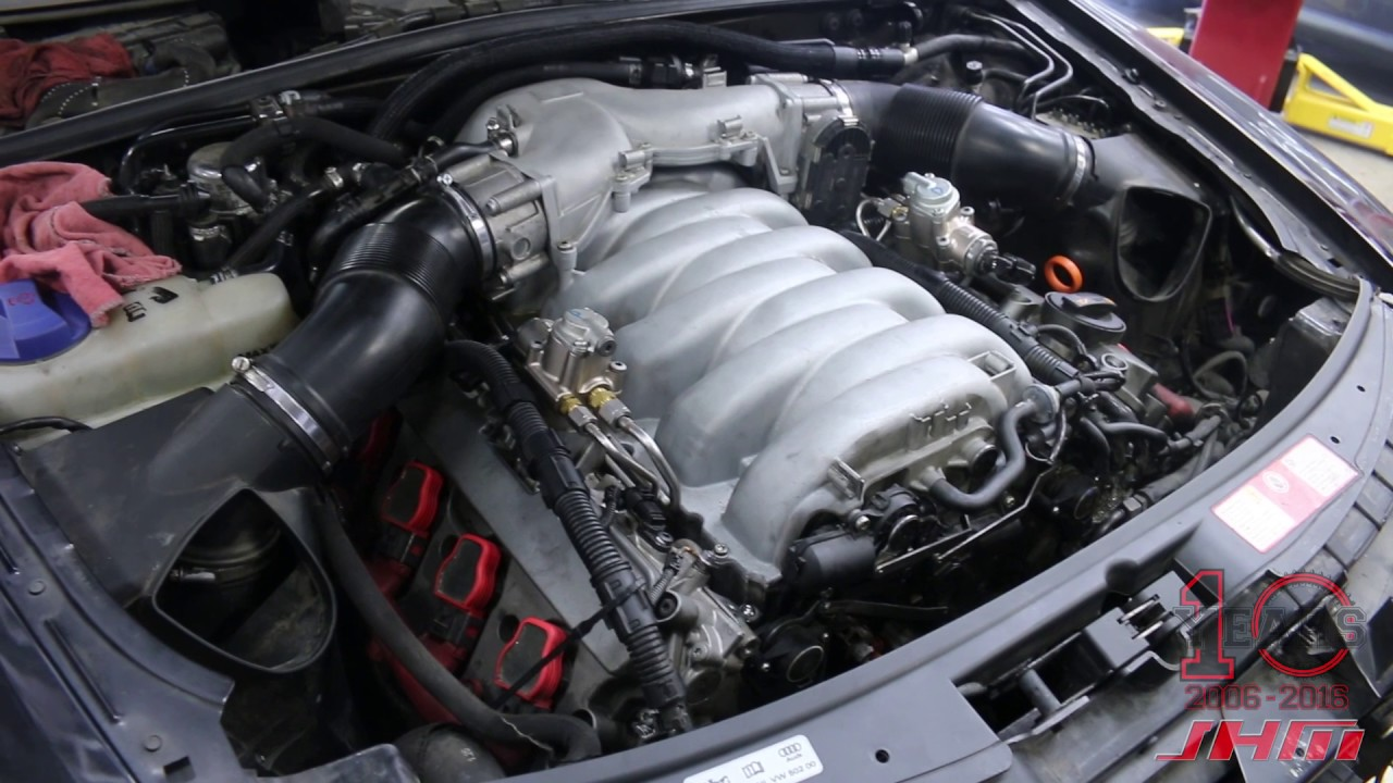 jhm audi s6-s8 5.2l v10 fsi program introduction - first ever c6