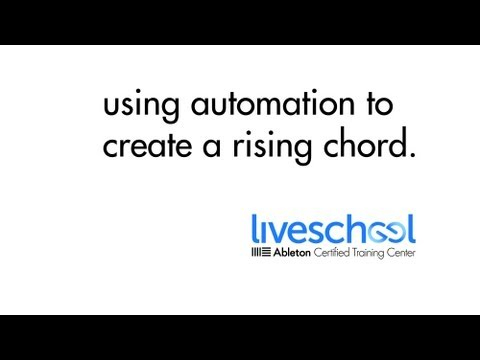 Video Tutorial: Using Velocity Automation to Create a Rising Chord