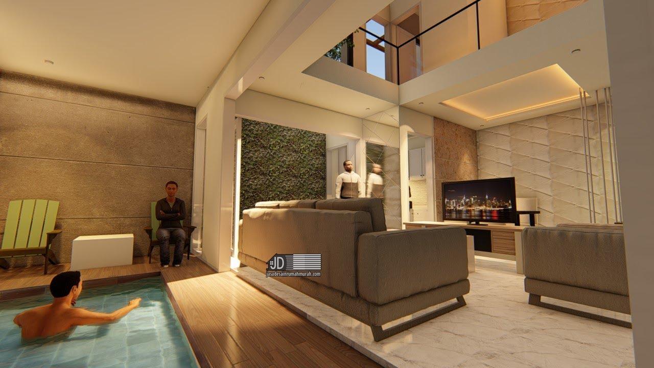 620 Desain Rumah Dengan Kolam Renang Indoor HD Terbaru
