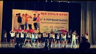 Kpop World 2017 in  Uzbekistan Flashmob (PSY New Face) Korean dance Cover