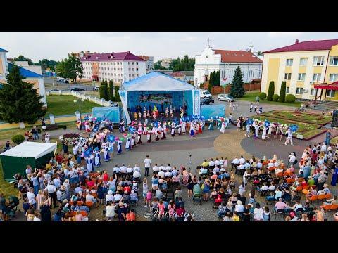 День города Иваново - 2021 (в конце видео показательные выступления десантников и салют)
