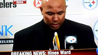 Hines Ward Retires A Steeler