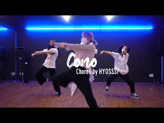 EZDANCE I 동탄점 I 이지댄스 I Puri & Jhorrmountain & Adje - Cono I GIRLS HIPHOP I CHOREO by HYOSSSI