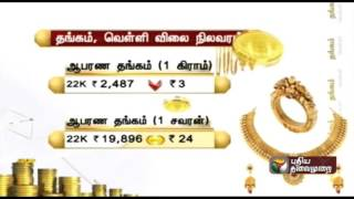 Today Gold & Silver Price Update 09-10-2015 Chennai gold rate today spl video news 9th October 2015