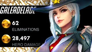 GALE DOMINATING AS ASHE! [ OVERWATCH SEASON 18 TOP 500 ]