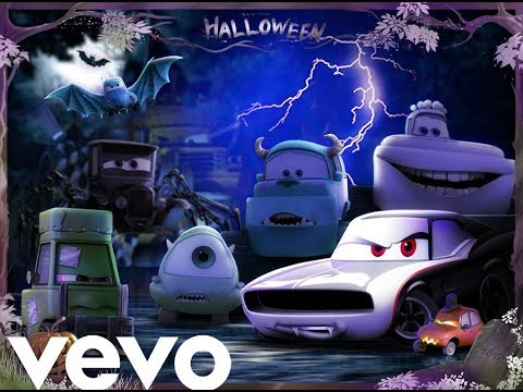 Cars Halloween - Spooky Scary Skeleton remix