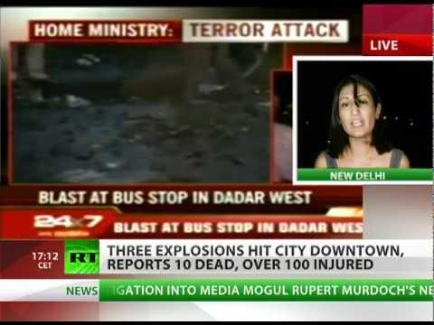 Mumbai Blasts: Triple bomb attack hits India city, over 100 injured